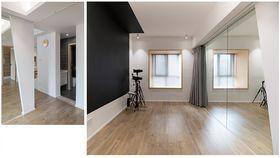 90平米三室两厅日式风格健身室图片