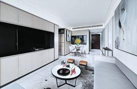 80平米三室两厅中式风格客厅图