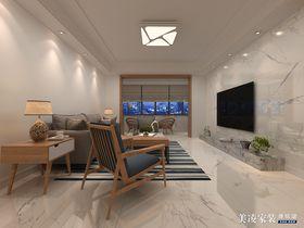 70平米现代简约风格客厅装修图片大全