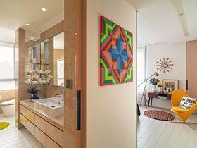 120平米三室两厅宜家风格玄关图片