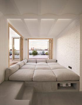 90平米現代簡約風格客廳裝修案例