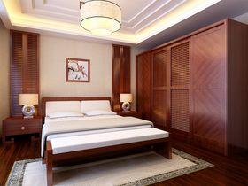 60平米公寓中式风格卧室设计图