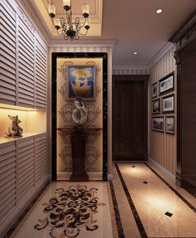 5-10万90平米三室一厅混搭风格玄关欣赏图