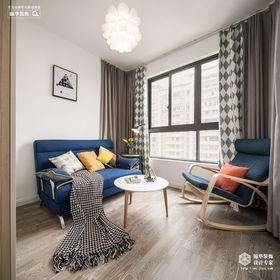 120平米三室两厅北欧风格阳光房图