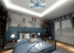 140平米别墅混搭风格儿童房效果图