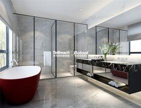 140平米别墅现代简约风格卫生间图
