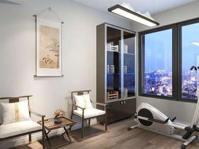 经济型140平米别墅中式风格健身室图片