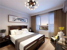 130平米三中式風格臥室圖片