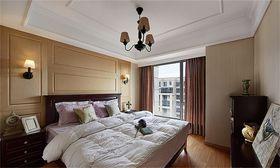 10-15万110平米三室两厅美式风格卧室效果图