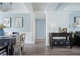 120平米美式风格客厅设计图