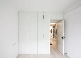 80平米三室兩廳現代簡約風格臥室欣賞圖