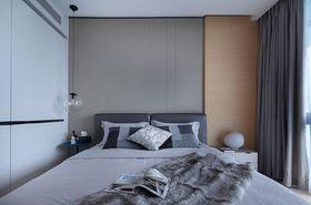 5-10万90平米三室两厅现代简约风格卧室图