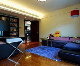 15-20万140平米三室两厅中式风格书房欣赏图