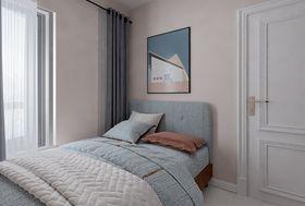 90平米三室一厅现代简约风格卧室欣赏图