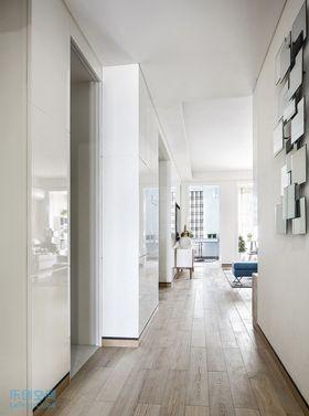 80平米三室两厅混搭风格走廊图片大全