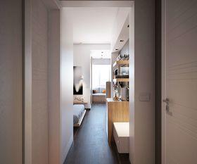 80平米现代简约风格走廊设计图
