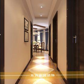 10-15万130平米三室两厅美式风格走廊装修案例