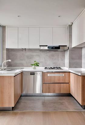 110平米复式北欧风格厨房装修效果图