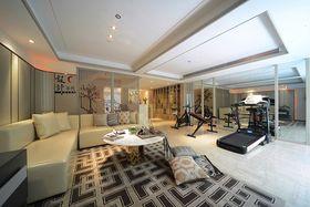20万以上140平米别墅中式风格健身室图片大全