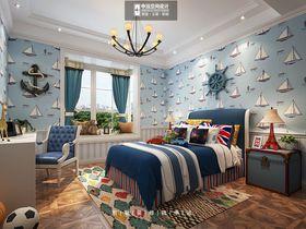 豪华型140平米四室两厅美式风格儿童房图