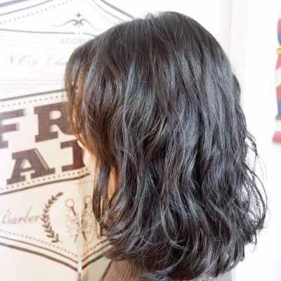 丽人 美发图库 烫发效果图  2376 创意烫发 中发 女图片