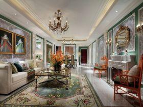 90平米三室一厅新古典风格客厅设计图