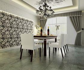 10-15万130平米三室两厅新古典风格餐厅图