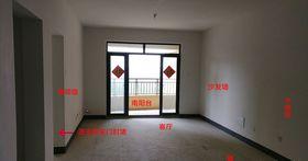 经济型80平米美式风格客厅欣赏图