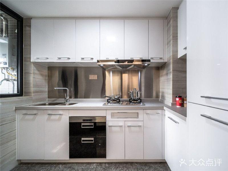 140平米四室两厅田园风格厨房图