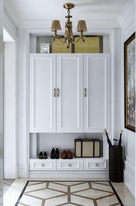 110平米三室兩廳法式風格玄關裝修案例