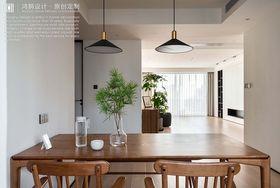 140平米三室兩廳現代簡約風格餐廳效果圖