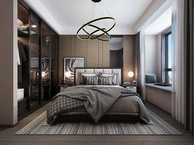 110平米現代簡約風格臥室裝修效果圖