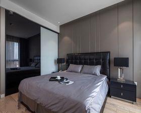 富裕型90平米三室一厅现代简约风格卧室装修案例