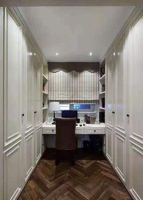 70平米三室两厅美式风格书房欣赏图