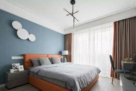 130平米三室兩廳現代簡約風格臥室裝修案例
