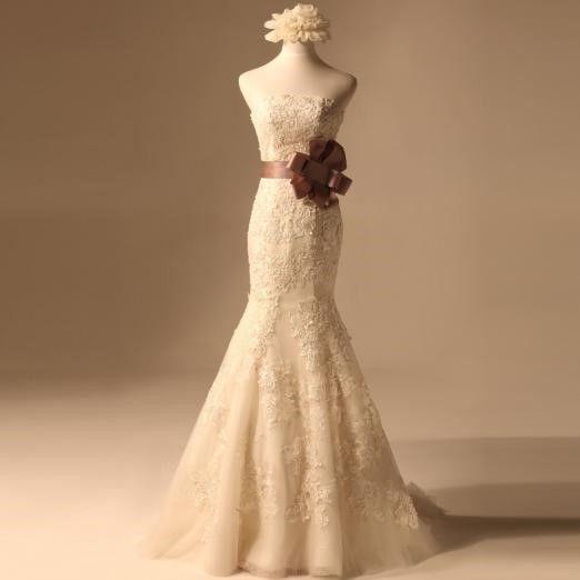 <b>鱼尾型的婚纱应该怎么选择</b>