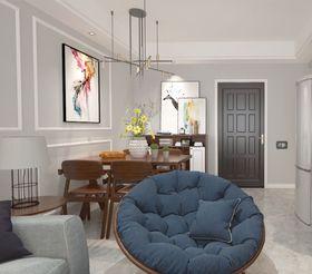 70平米三室一廳現代簡約風格餐廳裝修案例