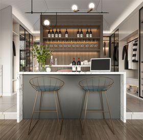 100平米混搭风格餐厅装修效果图