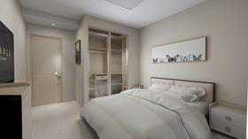 90平米北欧风格卧室装修案例