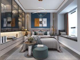 90平米三現代簡約風格臥室圖
