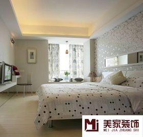 富裕型130平米三室三厅美式风格卧室图片