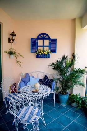 地中海风格阳台装修案例