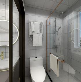 50平米三室一厅北欧风格卫生间效果图
