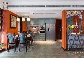 100平米三室两厅东南亚风格厨房装修案例