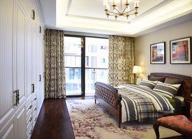 120平米三室一廳中式風格臥室圖片大全