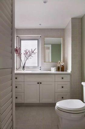 130平米三室两厅美式风格卫生间装修案例