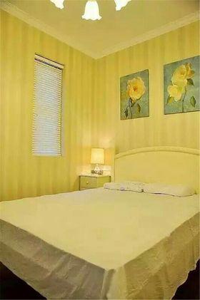 经济型70平米三室两厅美式风格卧室图片
