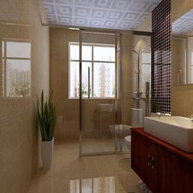 5-10万120平米三室两厅中式风格卫生间效果图