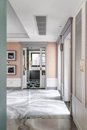 90平米三室两厅美式风格玄关欣赏图