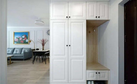 50平米一居室混搭风格玄关装修图片大全